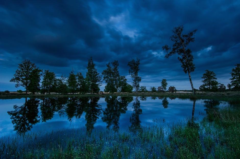 2e plaats vakjury, categorie landschap; Olaf Oudendijk