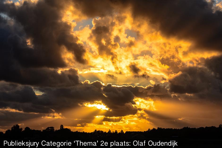 Publieksjury Categorie 'Thema' 2e plaats: Olaf Oudendijk